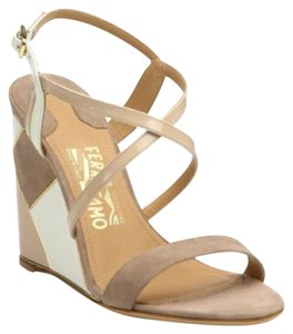 Salvatore Ferragamo Nutmeg Wedges
