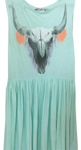 Wildfox short dress seafoam green on Tradesy