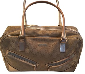Gucci Satchel in Gold