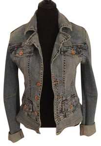Christopher Blue Womens Jean Jacket