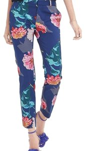 Banana Republic Skinny Pants Floral flower colorful