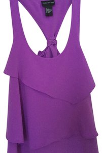 Central Park West Top Purple