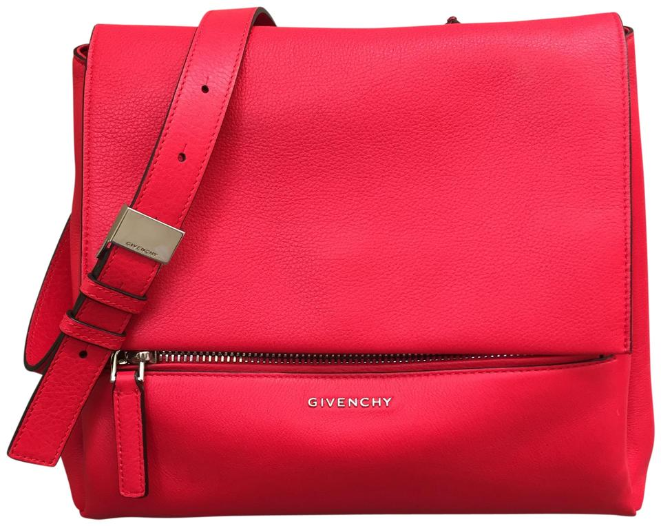 Givenchy Pandora Pure Red Leather Cross Body Bag - Tradesy c04dfc94cf389