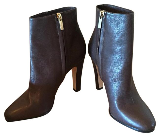 Item - Mocha/Brown Box New In Monday Grained Leather Ankle Boots/Booties Size US 8.5 Regular (M, B)