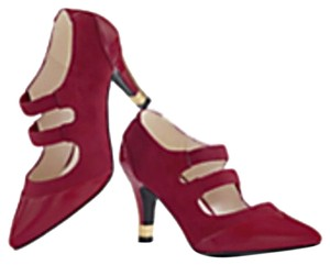 Andiamo Red Pumps