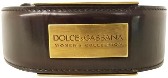 Preload https://img-static.tradesy.com/item/1789009/dolce-and-gabbana-dark-brown-leather-belt-0-2-540-540.jpg