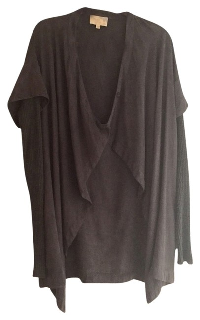 Preload https://img-static.tradesy.com/item/1789038/elizabeth-and-james-gray-draped-with-sweater-sleeves-size-10-m-0-0-650-650.jpg