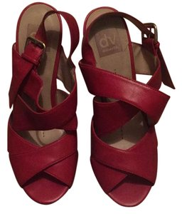 Dolce Vita Red Wedges