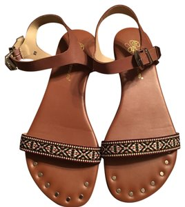 Matt Bernson Cognac Sandals