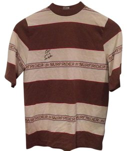 Surfrider T Shirt Brown