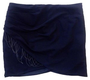 bebe P2154 Size 6 Mini Skirt black