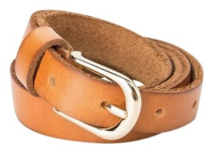 Mango Leather belt REF. 43013586 size M