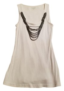 Express Sequin Party Nightout Top Black and White