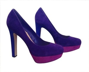 Steve Madden Purple Magenta & Blue Pumps