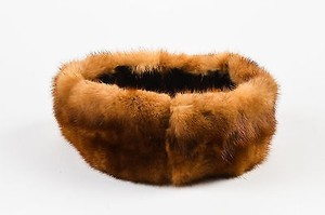 Vintage Tan Fur Headband