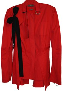 MCQ by Alexander McQueen Jacket Cherry Red Blazer