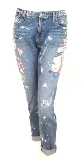 Polo Ralph Lauren Painted Multi Color Distressed Astor