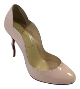 Christian Louboutin Wawy Dolly Curve Stiletto Light Pink Pumps