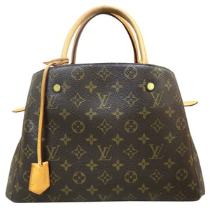 Louis Vuitton Lv Mm Shoulder Satchel in Monogram