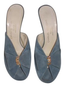 Charles Jourdan Stiletto Blue Sandals