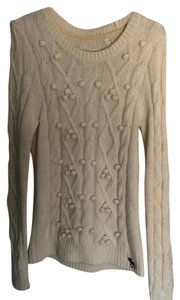 Abercrombie & Fitch Tan Multi Sweater