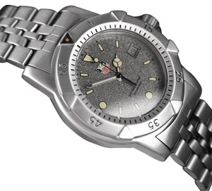 TAG Heuer Tag Heuer Professional 1500 Mens Diver Granite Dial Watch - Stainless Steel - 959.713G