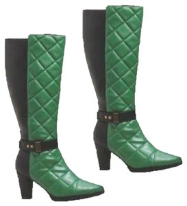 Ashro Hunter Green Boots