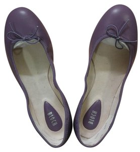 Bloch Ballet Leather Prima Ballerina Dark Orchid (Purple) Flats