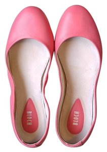 Bloch Ballet Leather Hot Pink Strawberry (Hot Pink) Flats