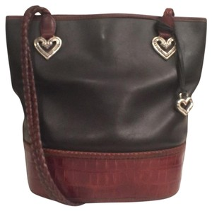 Brighton Leather Vintage Shoulder Bag