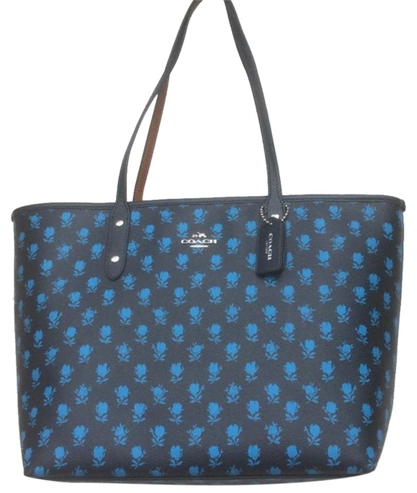 Coach City Ltd Edition Badlands Floral Large Zip Midnight   Multi ... 618e8eaa27be6