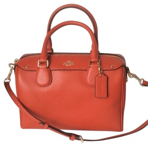 Coach Nwt New With Tags Satchel in Carmine