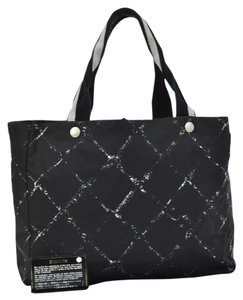 Chanel Travel Line Tote in Black