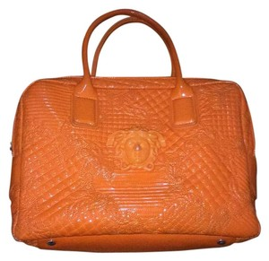 Versace Collection Tote in Orange