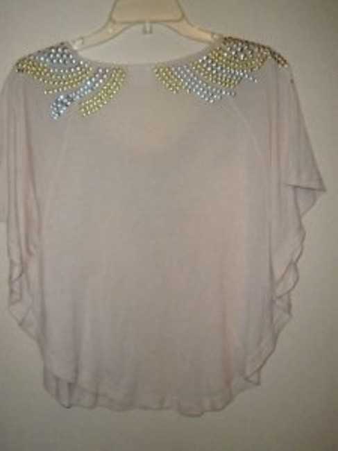 Free People Top Peachy very light pink