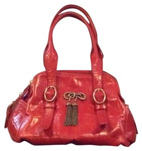 Betsey Johnson Satchel in Red