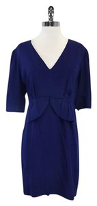 Stella McCartney short dress Navy Silk Quarter Length on Tradesy