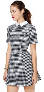 Lucca Couture short dress Checkered on Tradesy