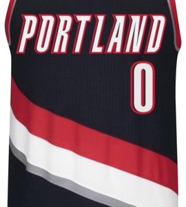 adidas Men's Portland Trailblazers Authentic Damian Lillard Jersey