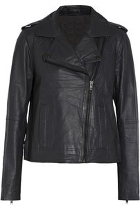 Walter Baker Leather Grey Leather Jacket