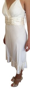 Calvin Klein Bridal Chic Wedding Romantic Silk Dress