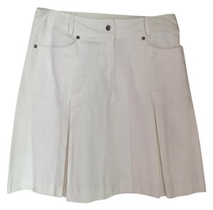 Kenar Mini Skirt white