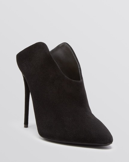 Giuseppe Zanotti Suede Slingback Suede Pointed Toe black Boots Image 2
