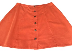 Moda Intl Skirt orange