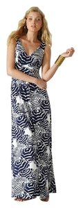 Navy/White Maxi Dress by Lilly Pulitzer