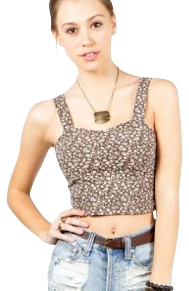 ff63c97d0a5901 Brandy Melville Floral Tank Top Cami Size OS (one size) - Tradesy