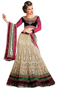 Utsav Fashion Lehenga Choli Indian Blue Dress