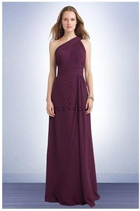 Bill Levkoff Eggplant Purple Bill Levkoff #1118 Bridesmaid Dress Dress
