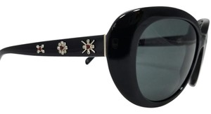 Chanel Retro Chanel Black Crystal Star and Flower Sunglasses 5151B C501/3F