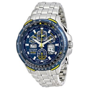 Citizen Citizen Blue Angels Skyhawk A-t Eco Drive Stainless Steel Mens Watch